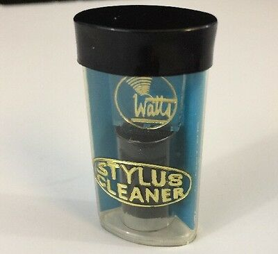 Vtg Phono Cartridge Stylus Cleaner Cecil E Watts Instructions Made In England