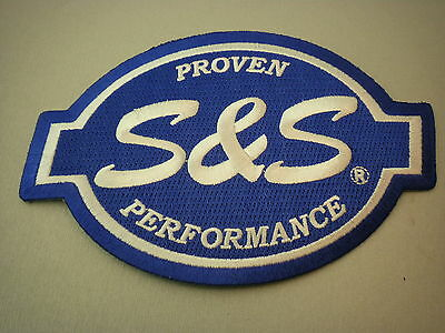 Patch Sew On Embroidered S&s Proven Performance Stroker Carburetor Vest Jacket