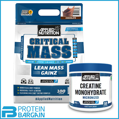 Applied Nutrition Critical Mass 6kg + FREE APPLIED SHAKER WITH EACH BAG