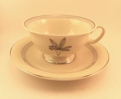 Castleton China Glenwood Tea Cup and Saucer Set s
