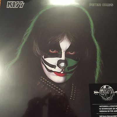 Kiss 'peter Criss' Lp Vinyl New 2014 Version With Mp3 Code - New / Sealed