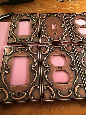 Copper Light Covers