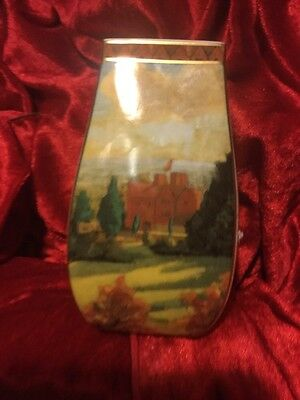 Border Fine Arts Vase View Of Chartwell After The Painting By Winston Churchill