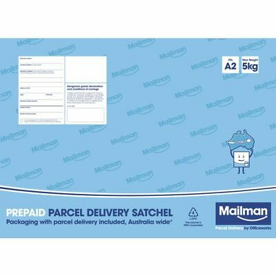 Mailman Parcel Delivery Satchel Large Up To 5kg