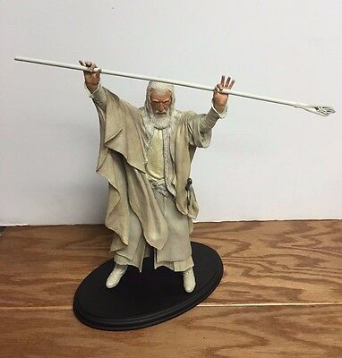 Gandalf the White ~ Lord of the Rings Sideshow Weta 1/6 Polystone Figure