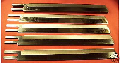"""Straight Cutting Machine 10"""" Knife Blades -12 PACK for Eastman type Cloth Cutter"""