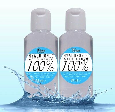 100% Pure acido ialuronico Siero 70ml anti rughe sollevato plump pelle