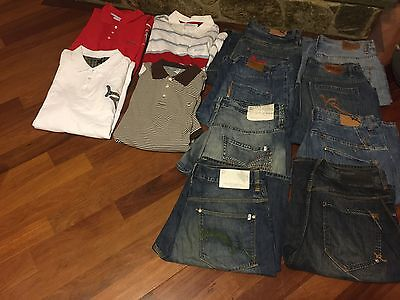 Lot Of Men's Clothing-size 2xl Size 38
