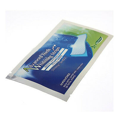 White Professional Whitestrips Effects 28 Strips 14 Pouch Teeth Whitening Sale