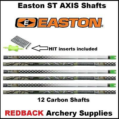 Easton ST Axis N Fused 340 spine Arrow Shafts 12 pack archery & bow hunting