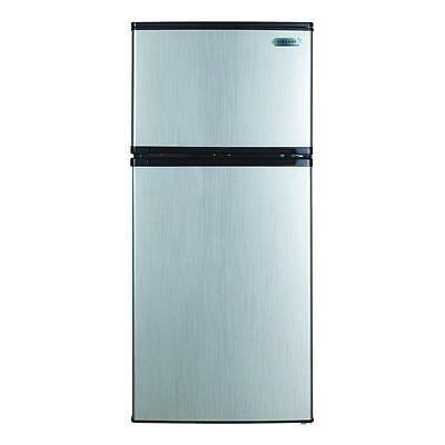 Vissani 4.3 cu. ft. Mini Refrigerator in Stainless Look