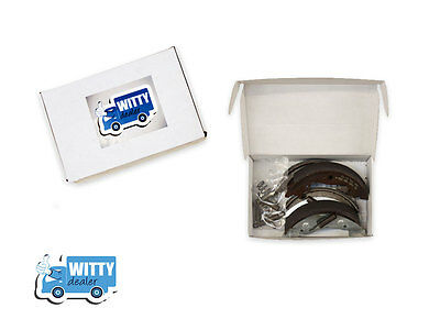 250x40 Trailer Brake Shoes Knott type set - Ifor Williams,Brian James