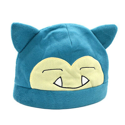 Mütze Pokemon Hut Anime Snorlax Karneval Cosplay Pocket Monster Kostüm Geschenk