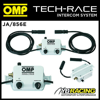 Ja/856E Omp Tech-Race Professional Intercom In Car Sound System With Control Box