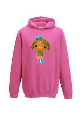 **SALE** Super Cute Octonauts Hoodie - Dashi Dog Candyfloss Pink (Slight Fault)