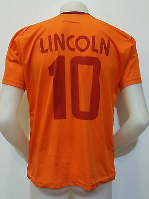 Maglia Shirt Calcio Galatasaray Lincoln N.10 Tg.s Avea Trikot Football Rare S282
