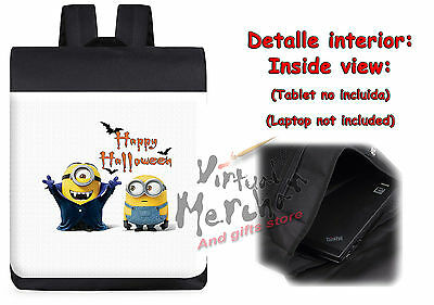 MOCHILA MINIONS HAPPY HALLOWEEN DRACULA backpack rucksack ES