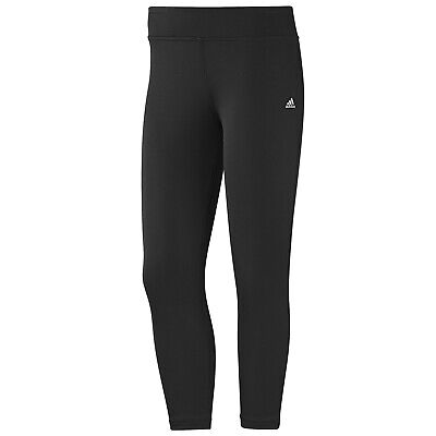 adidas Damen Clima Essentials 3/4 Tight Hose Fitness Jogging Running Leggings