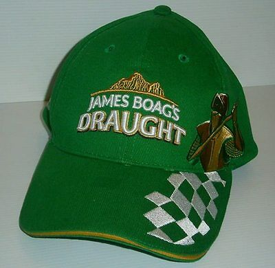 James Boags Draught Beer brand new Grand Prix hat cap for home bar pub collector