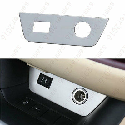 Front Cigarette Lighter Panel Cover Trim For Toyota Kluger Highlander 2014-2015