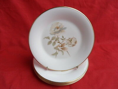 Royal Doulton, Yorkshire Rose, 4 x Teaplates or Side Plates