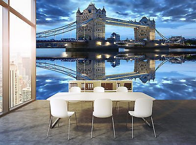 Famous the London Bridge Wall Mural Photo Wallpaper GIANT DECOR Paper Poster