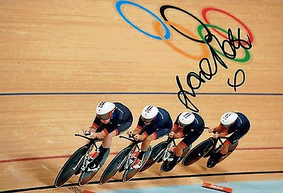 Laura TROTT Autograph Signed Olympic Photo AFTAL COA Track Cyclist Gold Medal