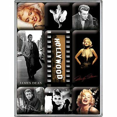 Nostalgic-Art 83003 Hollywood, Magnet Set 9-teilig