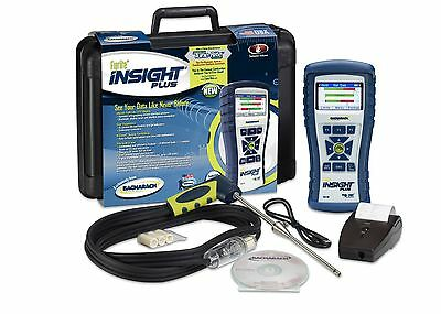 Bacharach Fyrite INSIGHT Plus 0024-8518 Reporting Kit Combustion Analyzer