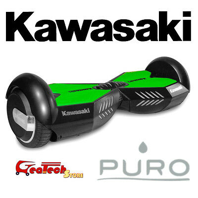 Puro Hoverboard Kawasaky Skateboard Scooter Elettrico KX-PRO6.5A con luci a led