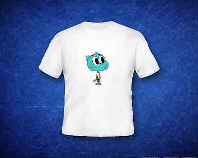 **SALE** Amazing World of Gumball - Gumball white t-shirt M ages 7/8 **SALE**