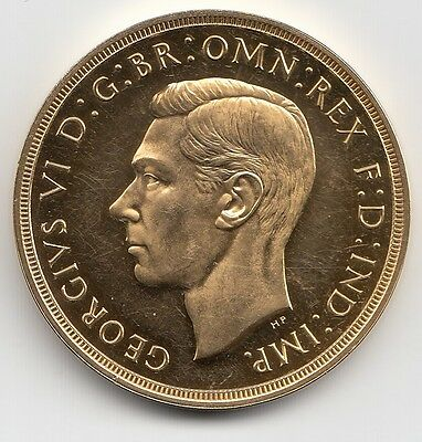 Rare 1937 Great Britain King George Vi Proof Gold Five Pound £5 Coin