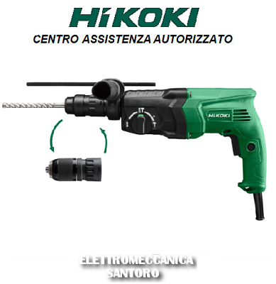 Marteau Perforateur Hitachi Dh24Ph Da 730 Watt 3 Modes' Sds Plus + Mandrin