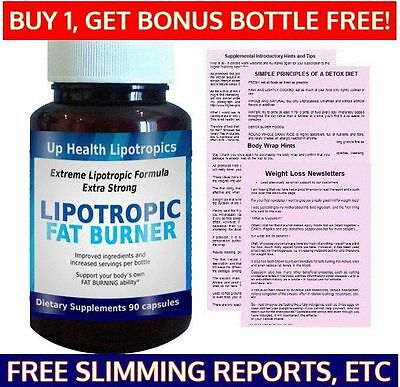 High Lipotropic Fat Burning Slimming Pills Lose Loss Weight Slim & Fatburner 7