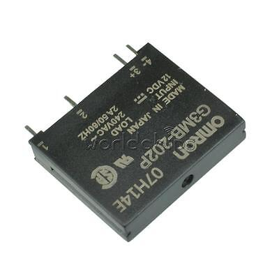 2PCS  G3MB-202P DC-AC PCB SSR In 12VDC Out 240V AC 2A Solid State Relay