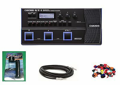 New Boss GT-1 Guitar COSM Effects Processor StompBox Battery Power *Free BRB1