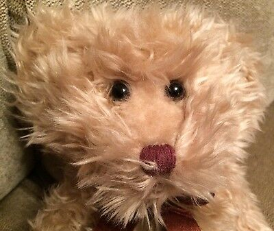 """Russ Berrie & Co 12"""" Beautiful Brown Fluffy """"Radcliffe """"Teddy Bear Soft Toy"""