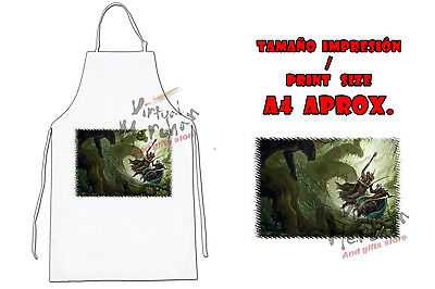 DELANTAL DUNGEONS AND DRAGONS DRIZZT APRON tablier grembiule es
