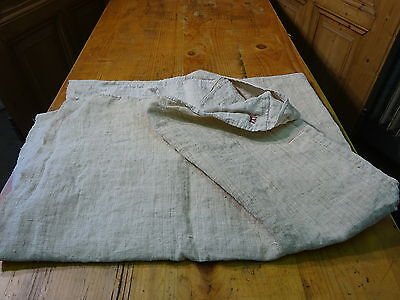 Antique European Linen, Hemp,Flax Homespun Linen Sheet 72'' x 50'' #7529