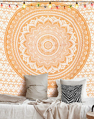 Indian Mandala Tapestry Hippie Wall Hanging Bohemian Bedspread Throw Decor