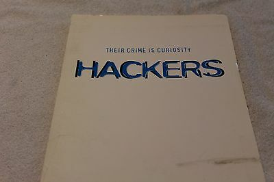 Hackers Press Kit, United Artists, 1995