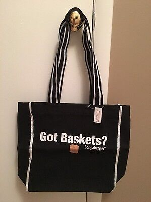 "Longaberger Homestead ""Got Baskets?""  Tote"