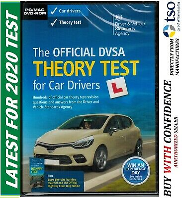 Latest official DVSA THEORY test for car drivers DVD ROM 2019 PC MAC TheoryDvd
