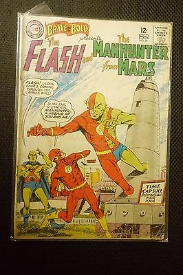 The Brave And The Bold 56 Fine+  Flash & Manhunter