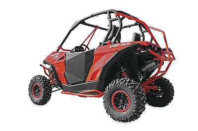 Dragonfire Racing HiBoy Doors Black CAN-AM Commander 1000 2011 07-2003