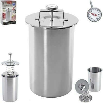 Stainless Steel Ham Maker with Thermometer - Sent via Registered Mail