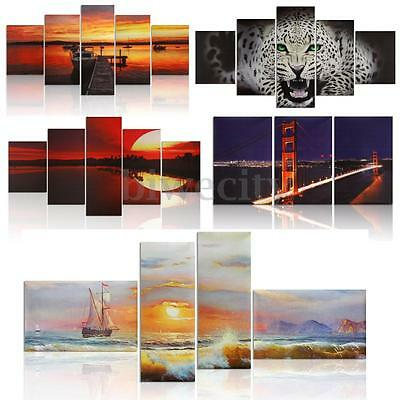 Modern Abstract Picture Oil Painting Canvas Prints Art Home Hotel Decor Unframed