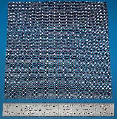 "Copper Mesh, 10x10, .025"" (.64mm) Wire, .075"" (1.91mm) Wd."