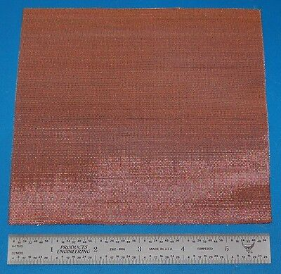 "Copper Mesh, 60x60, .0075"" (.19mm) Wire, .009"" (.23mm) Wd."