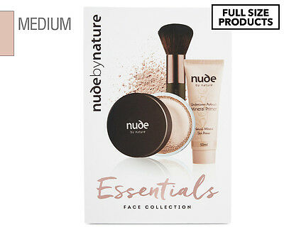 Nude by Nature Essential Face Collection - Medium